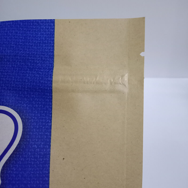 1.Biodegradable PLA and brown kraft paper packaging bags with easy zipper (4)