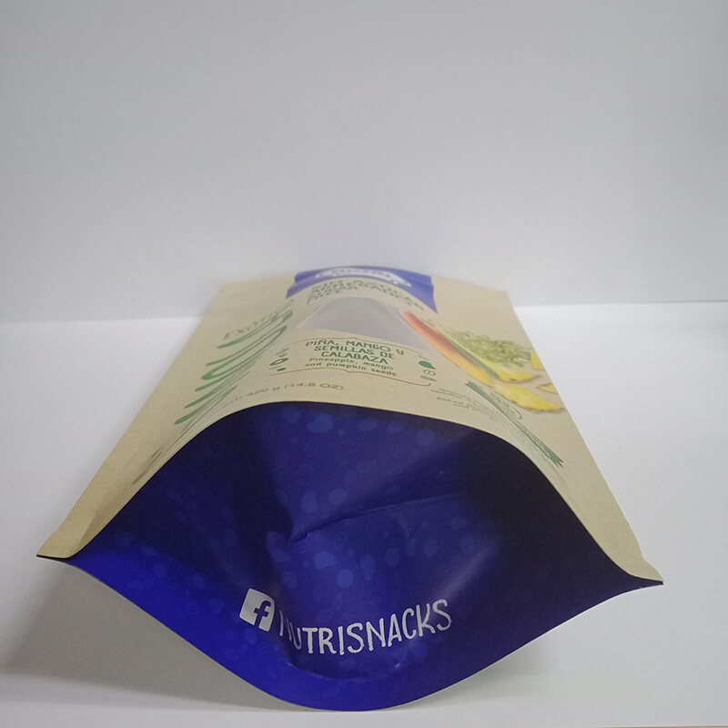 1.Biodegradable PLA and brown kraft paper packaging bags with easy zipper (6)