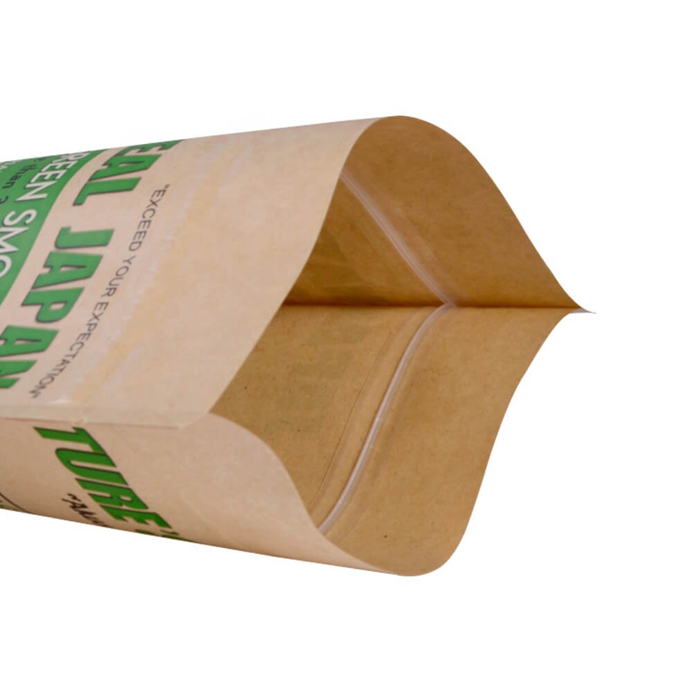 1.Creative biodegradable stand up packaging bags with transparent window for nut (4)