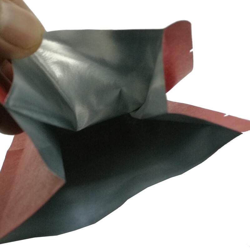 1.Custom gusset bags aluminum foil packaging bags for coffee bean (1)