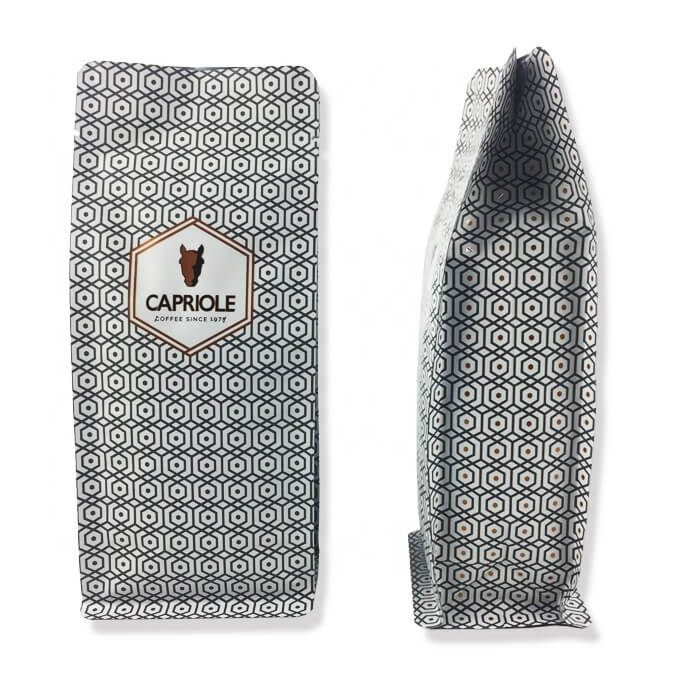 2.Custom aluminum foil stand up bags with easy zipper for coffee powder packing (1)