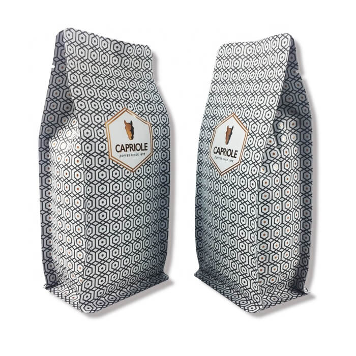 2.Custom aluminum foil stand up bags with easy zipper for coffee powder packing (2)