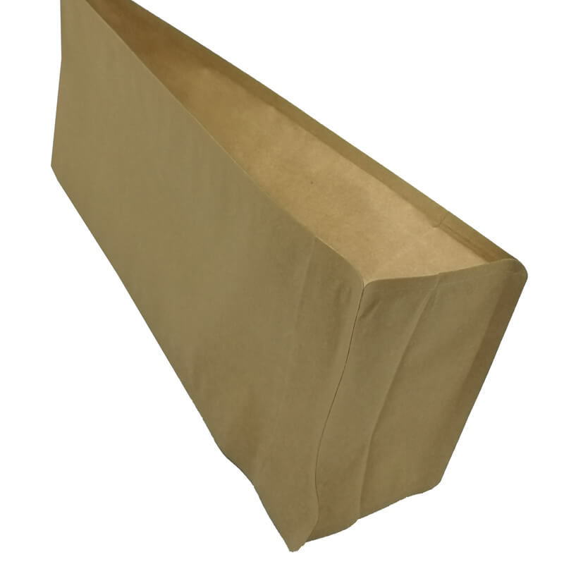 2.ECO friendly yellow kraft paper gusset bags for tea leaves (2)