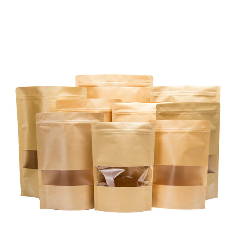 Different size kraft paper sandwich packaging bag (1)