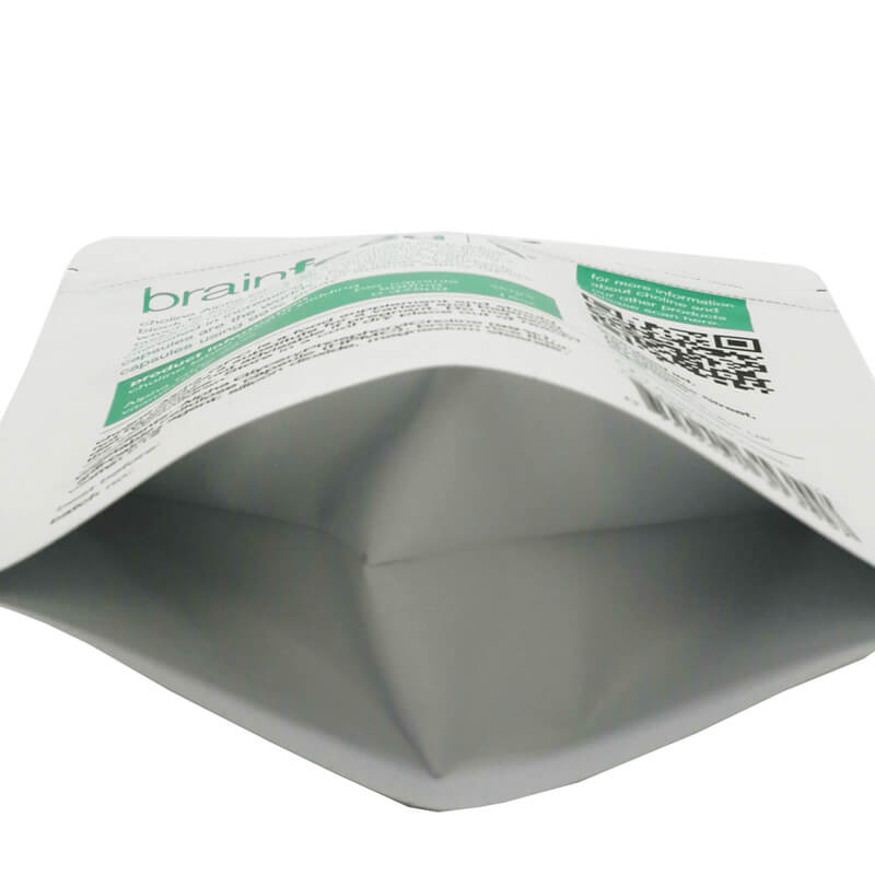 Custom stand up health food packaging bags with handing hole (3)