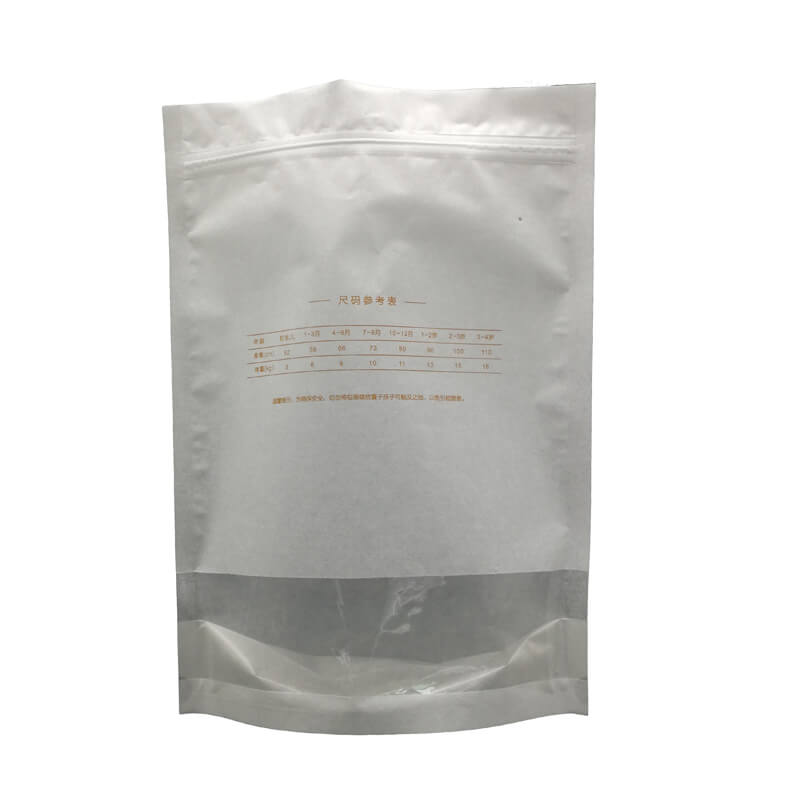 Stand up wheat packaging bags with zipper (5)