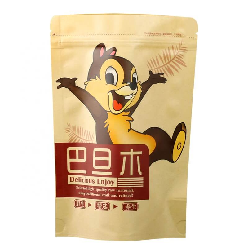 6.Fully biodegradable PLA nuts packaging bags with easy zipper (6)