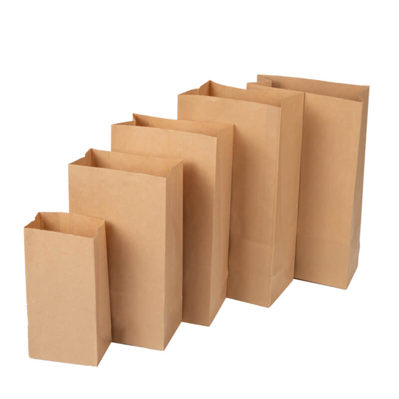 Different size kraft paper sandwich packaging bag (3)