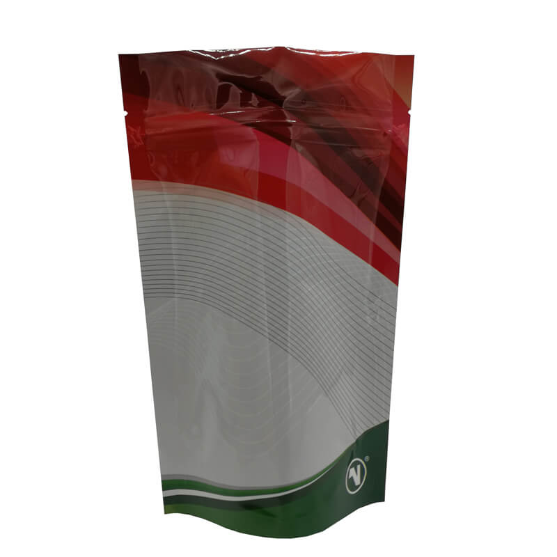 Color printed stand up aluminum foil packaging bags for coffee powder (2)