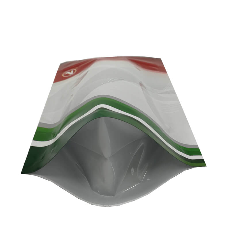 Color printed stand up aluminum foil packaging bags for coffee powder (4)