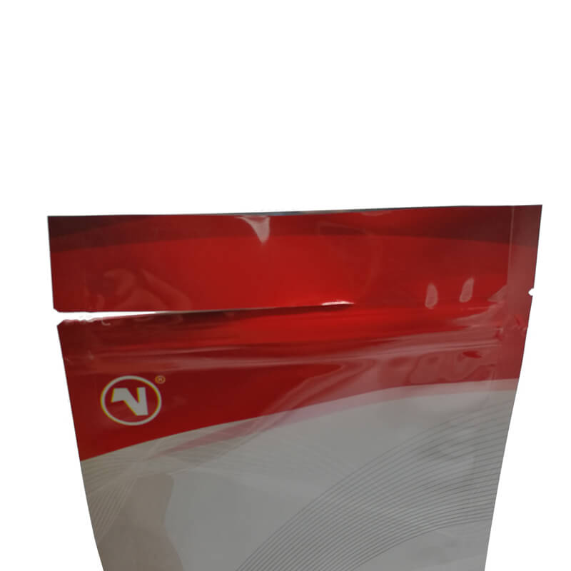 Color printed stand up aluminum foil packaging bags for coffee powder (7)