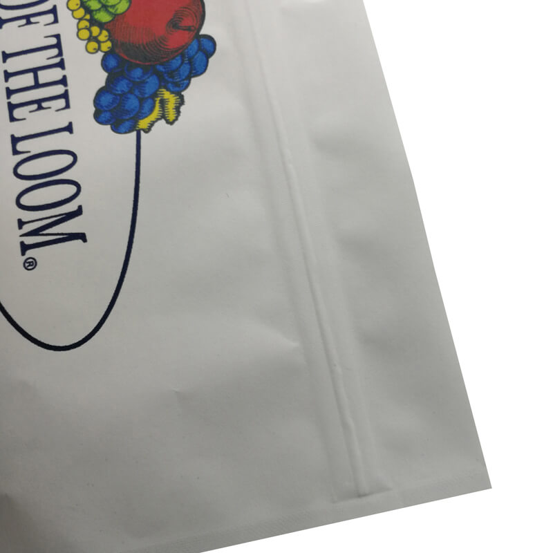 Custom 3 side sealed aluminum foil packaging bags for facia mask (4)