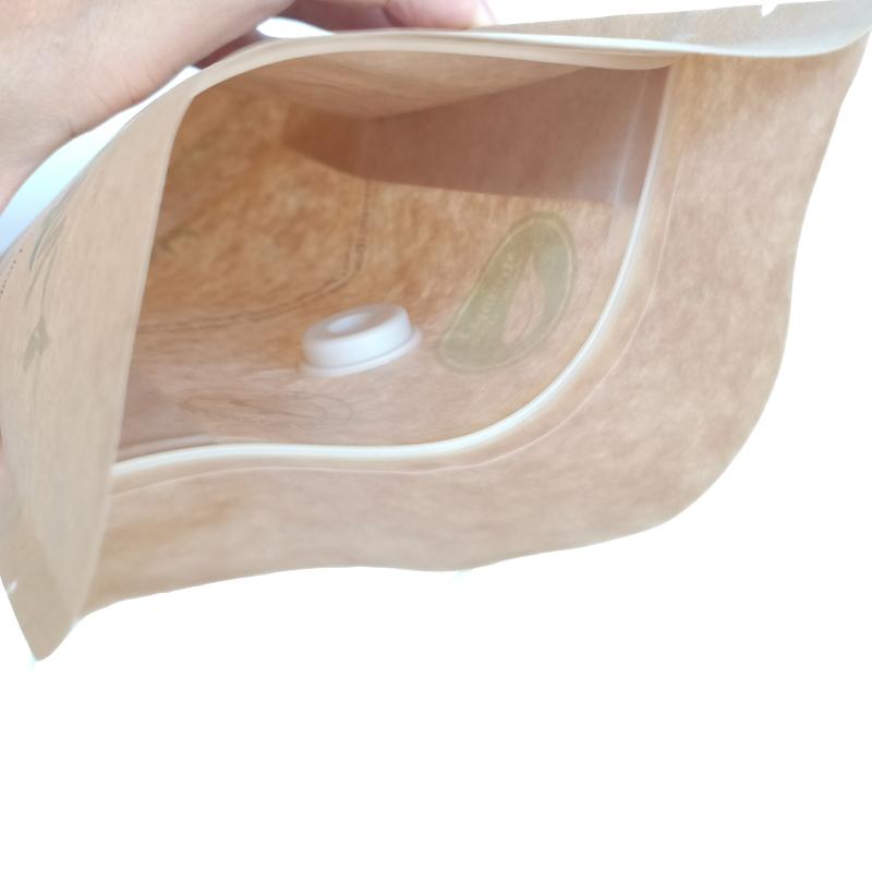 biodegradable air valve and zipper