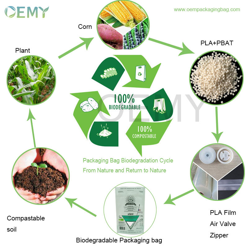 biodegradable packaging cycle