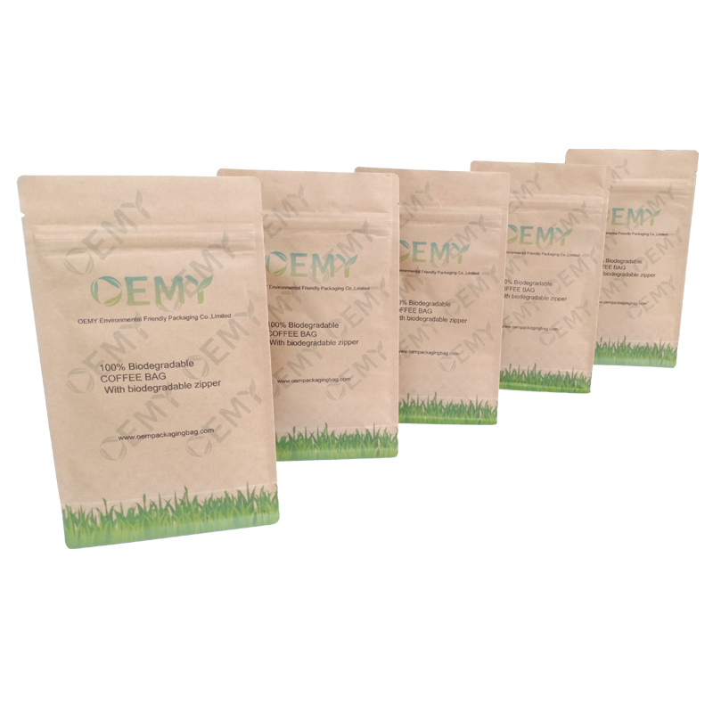 compostable 8 side sealed pouch