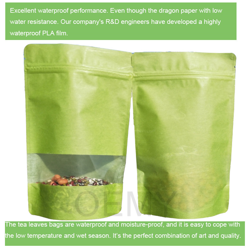tea package pouches